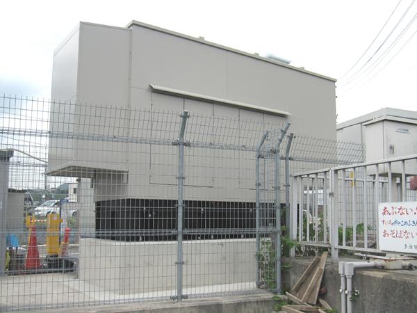 池田町内発電機設置工事