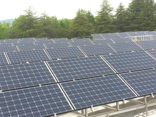 虎渓山配水池太陽光発電設備工事